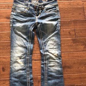 Buckle Black women's bootleg jeans